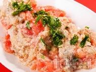 Рецепта Зеленчуково къри с патладжани и домати